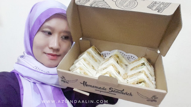 SANDWICH GARSA KITCHEN EGG SALTED CHICKEN MENU BARU YANG SEDAP