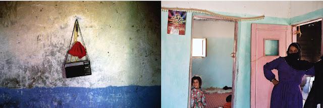 domostwo na pustyni, portret kobiety i dziecka