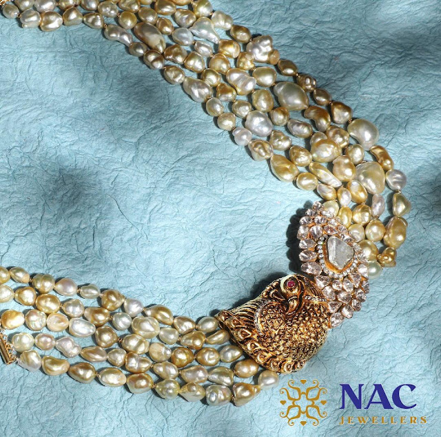 Kundan Chokers by Nac Jewellers