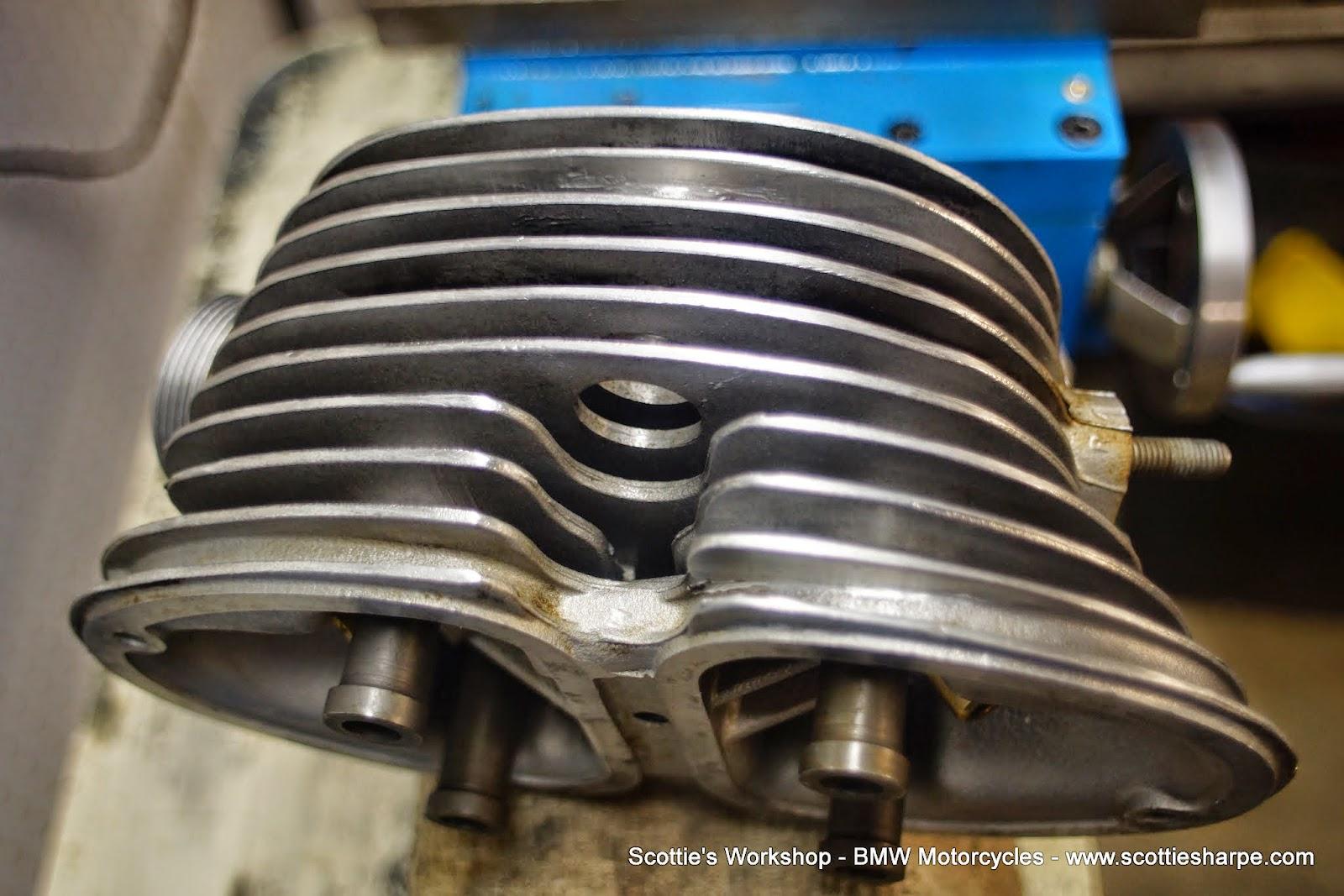 Scottie U0026 39 S Workshop  Aluminum Cylinder Head Fin Repair