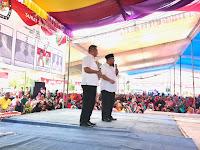 Kampanye Arinal-Nunik di Lampung Selatan Membludak