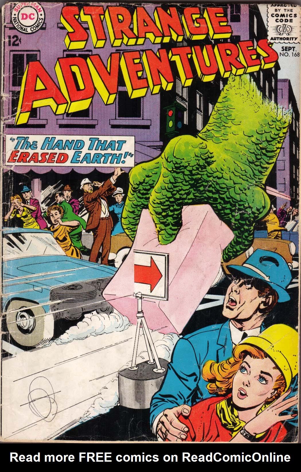 Strange Adventures (1950) 168 Page 1
