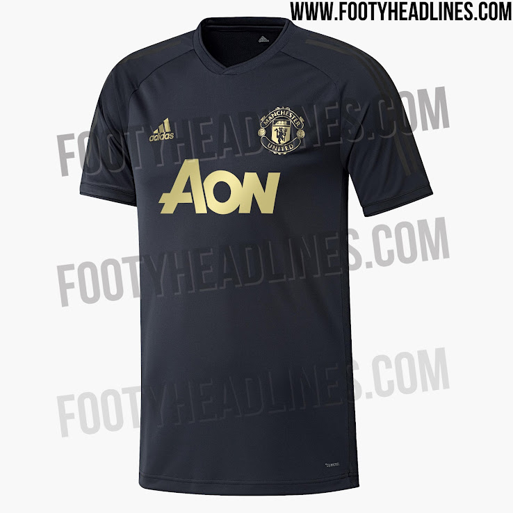 the latest c89f5 2f213 Third Kit Colors Confirmed - Classy Manchester United 18-19 ...