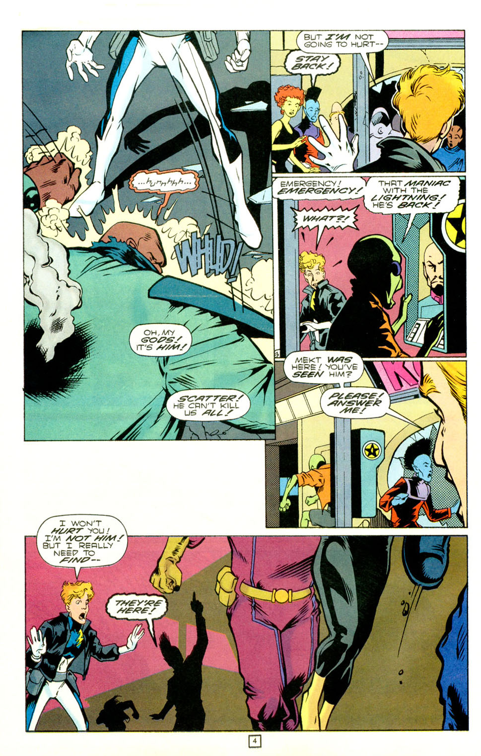 Legion of Super-Heroes (1989) 73 Page 4