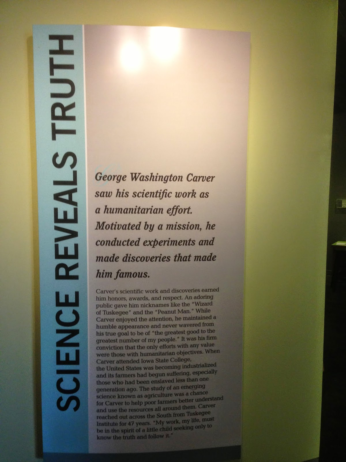 honest ab evolution and related topics a celebration of george  next i will post an essay about science and religion focusing on george  washington carver