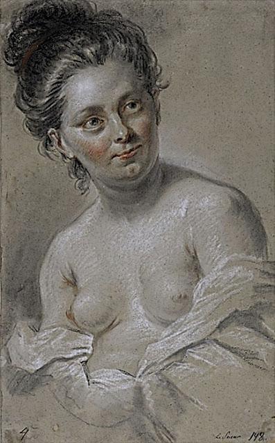 Blaise Nicolas Le Sueur: Nudo femminile