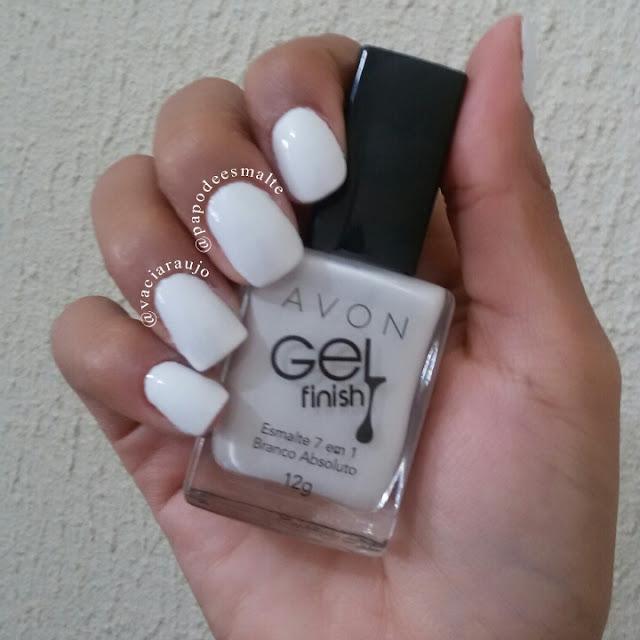Esmalte Branco Absoluto Avon