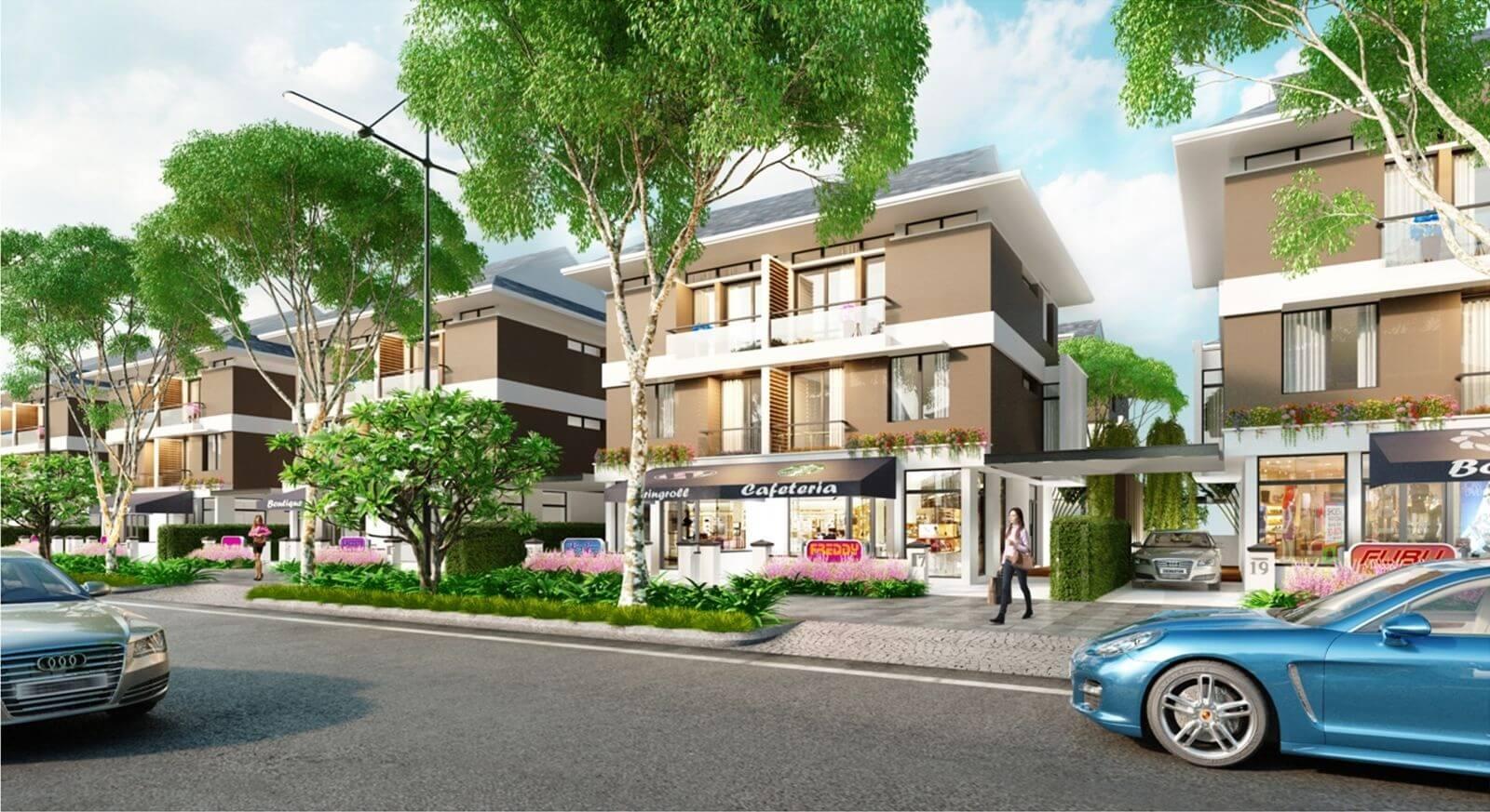 Liền kề, Shop House An Phú Shop Villa.