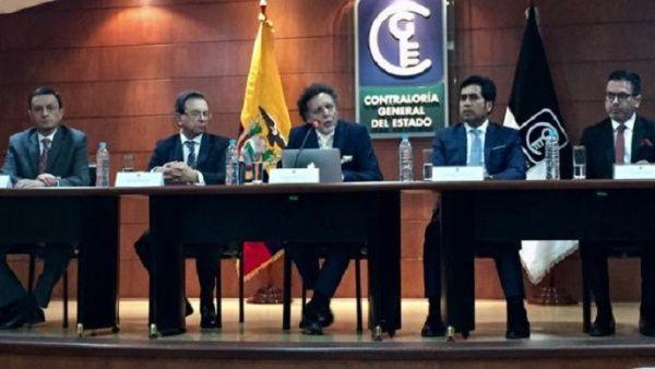 """Contraloría de Ecuador determina supuesta """"responsabilidad penal"""" de Correa por deuda"""
