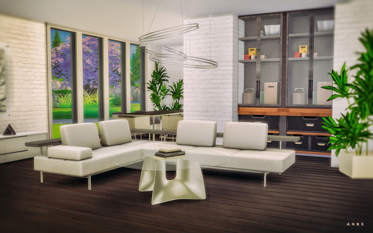 My Sims 4 Blog: Stylist Sims Nissa Living Room Conversions ...