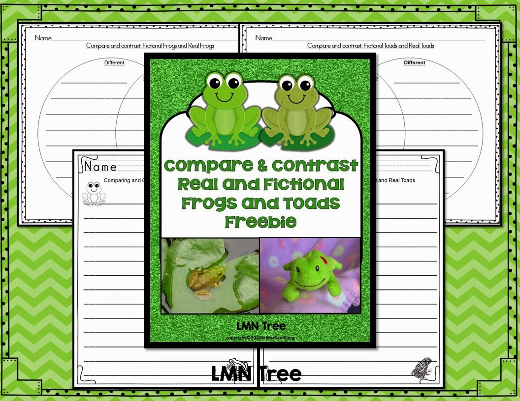 frog and toad venn diagram 3 switch one light wiring lmn tree frogs toads free resources activities