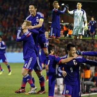 ベルギーに勝利