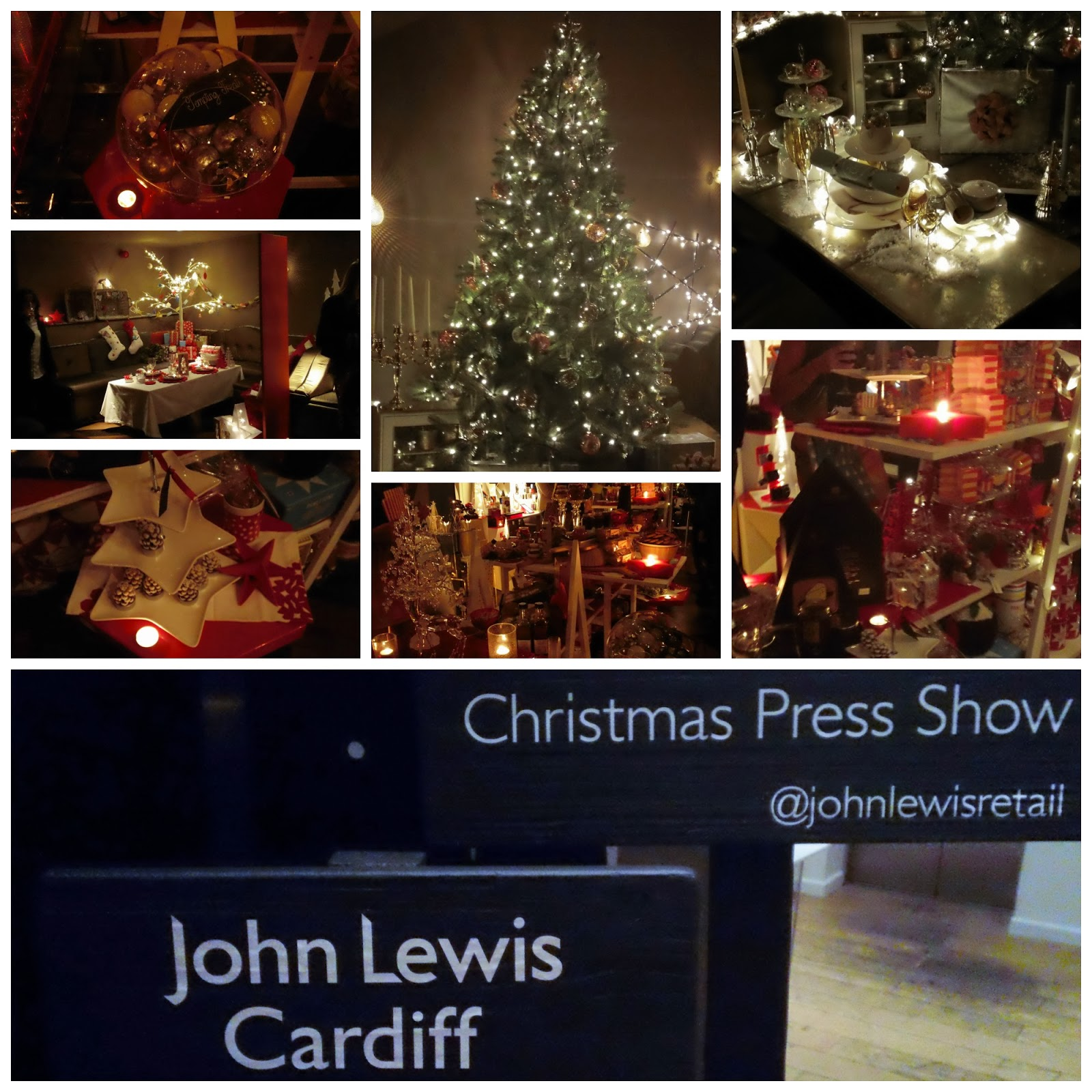 John Lewis Press Event, John Lewis Christmas, Kuku Club, Park Plaza Hotel Cardiff