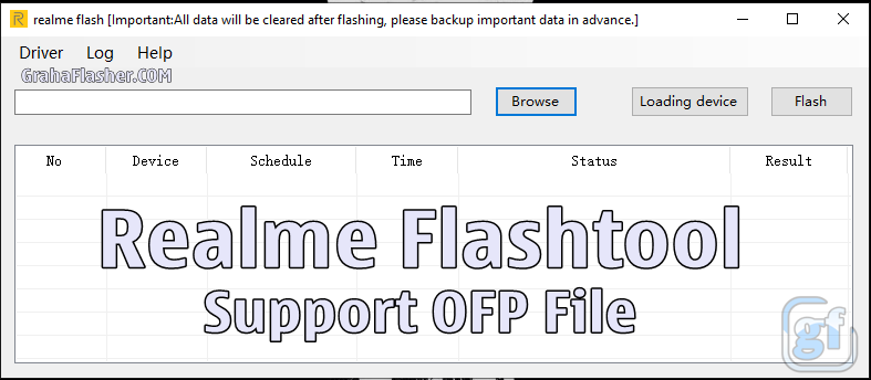 Realme Flashtool (Support OFP File)