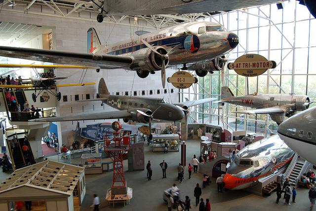 Museu Nacional do Ar e do Espaço em Washington