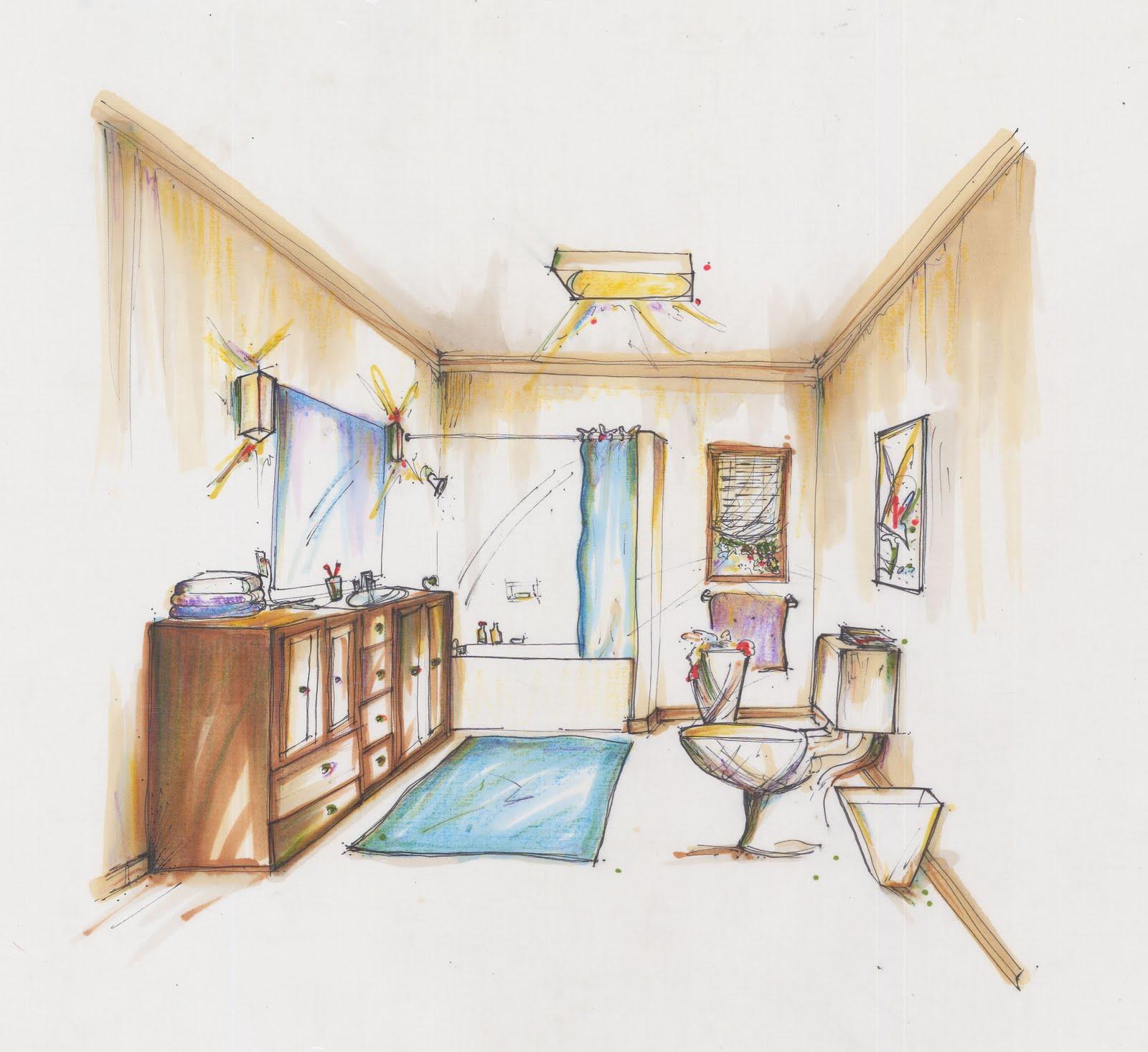 Ariel's Interior Design Portfolio: Habitat for Humanity