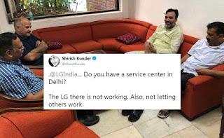 """LG In Delhi Not Working,"" Tweets Shirish Kunder. LG Electronics Responds"