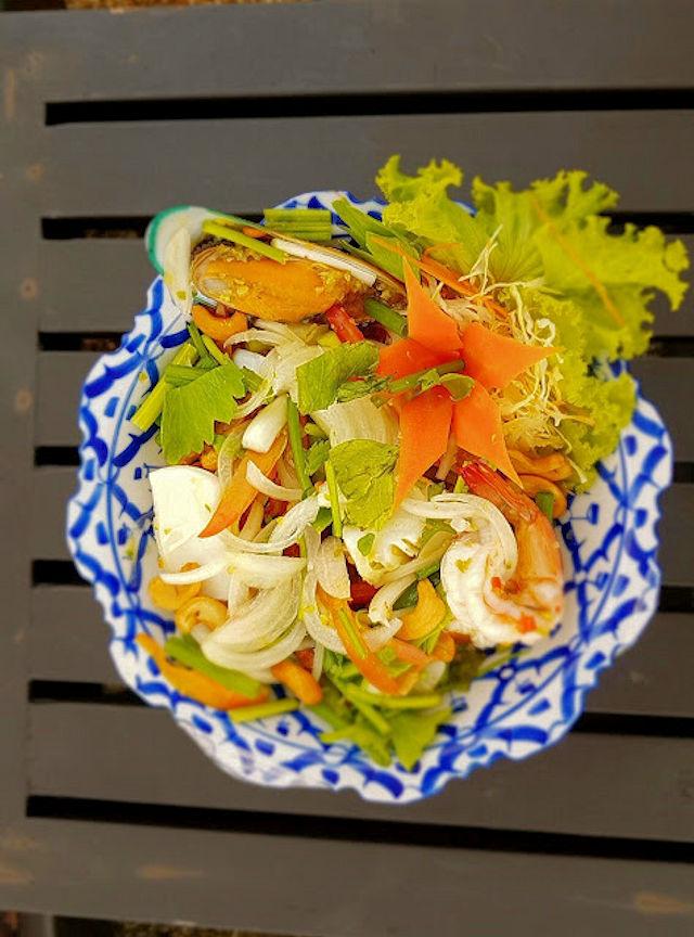 Thailändische Küche Salat (C) Kundenfoto