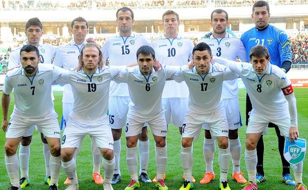 Resultado de imagen para uzbekistán futbol