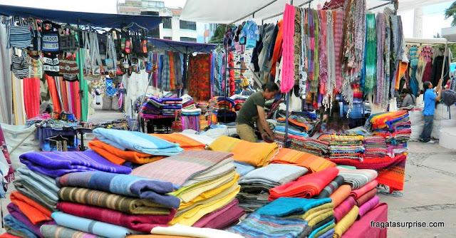 Mercado de Otavalo, Equador