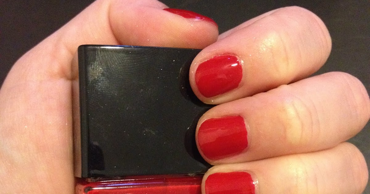 The Beauty Of Life Last Minute Mani Butter London Come To Bed Red