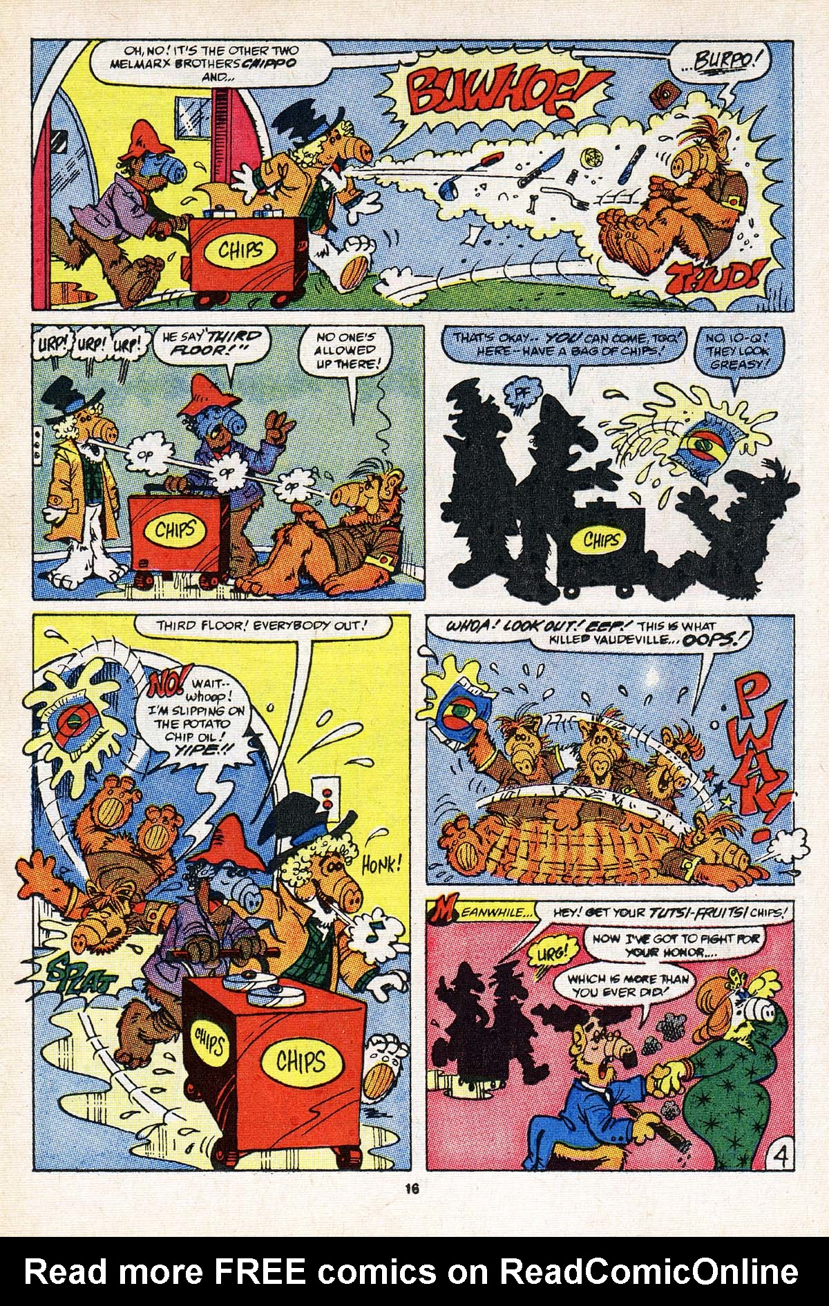 Read online ALF comic -  Issue #21 - 13