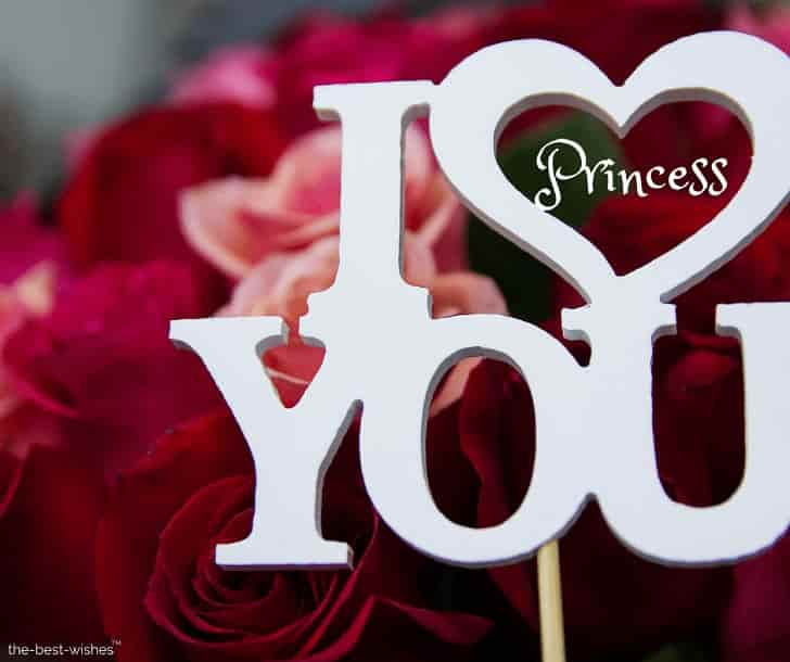 i love u princess