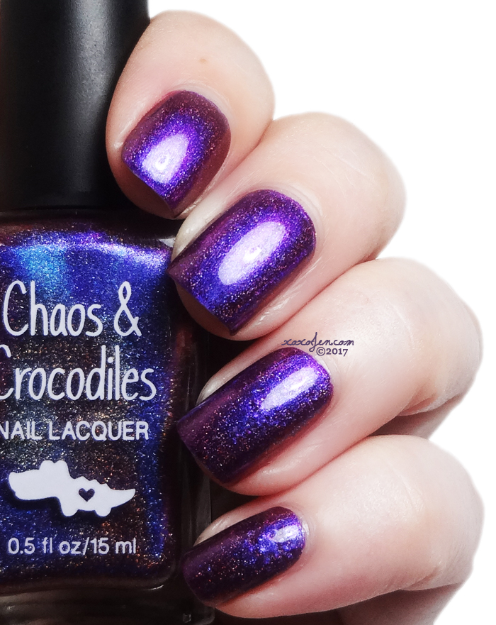 xoxoJen's swatch of Chaos & Crocodiles: Cheshire Rose