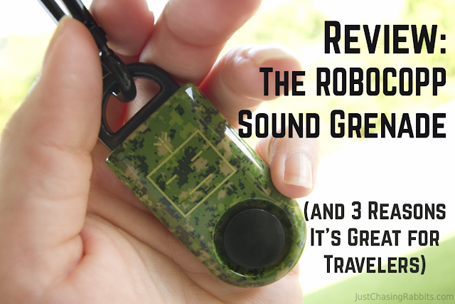 Review: The ROBOCOPP Sound Grenade (and 3 Reasons It's Great for Travelers)
