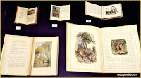 Red Riding Hood Exhibit Old Books