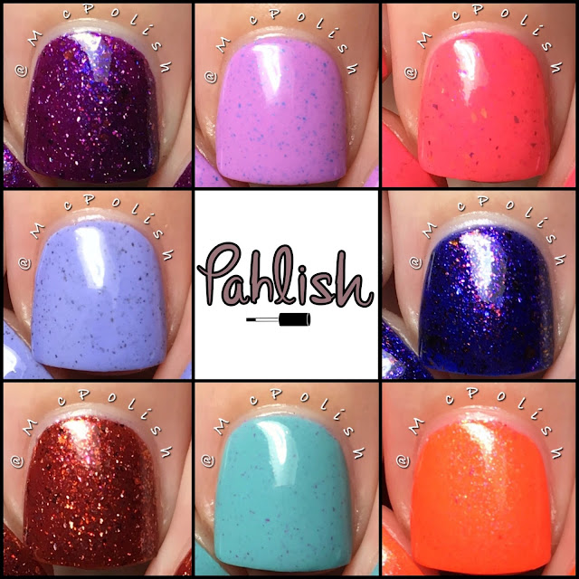 Pahlish - Hothouse Flowers - McPolish