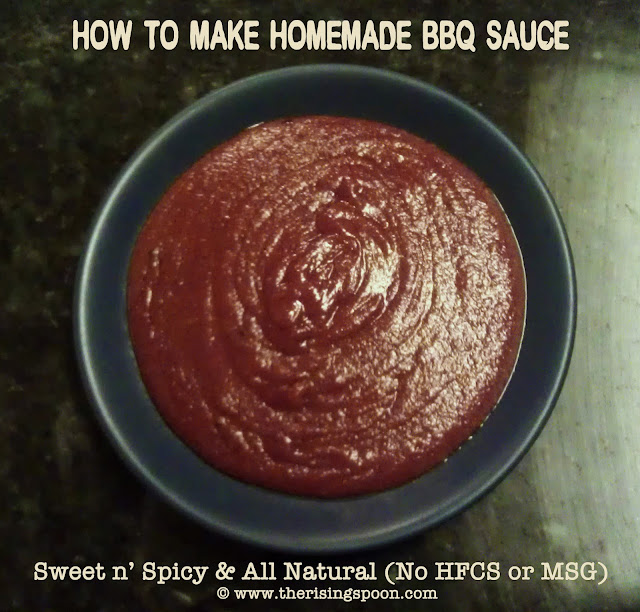 How to Make Homemade BBQ Sauce | www.therisingspoon.com