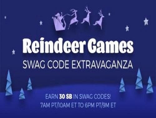Swagbucks Swag Code Extravaganza: Reindeer Games!