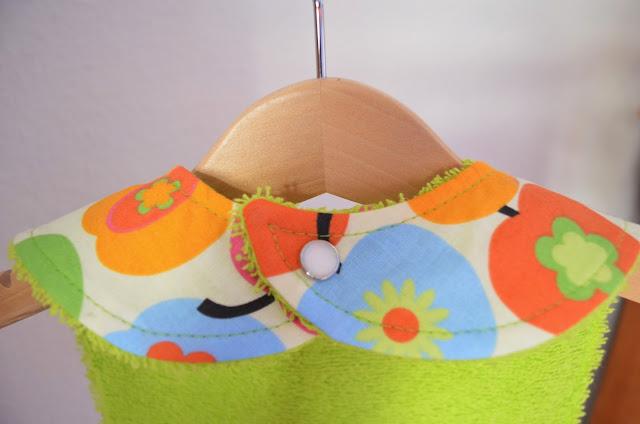 LAVERDE Baby-Lätzchen mit Druckknopf