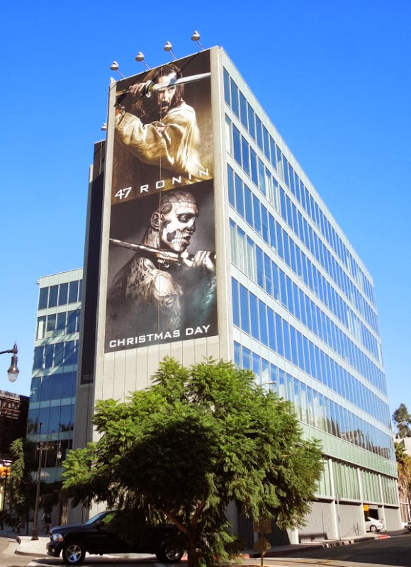 Giant 47 Ronin film billboard