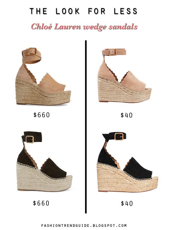 8dac9a1e9ed Fashion Trend Guide  The Look for Less - Chloé Lauren Espadrille ...