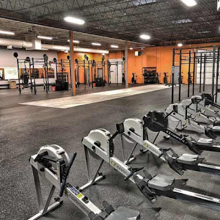 Greatmats rubber flooring in commercial fitness center