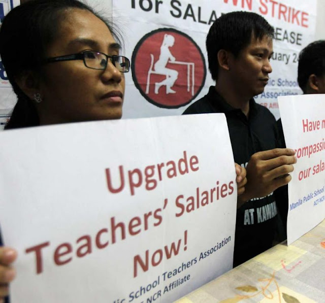 DepEd Proposes Teachers' Monthly Salary to Increase To Php 39,000.