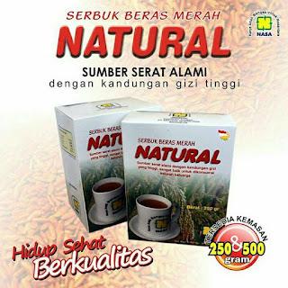 SERBUK BERAS MERAH NATURAL [ SBMN ]