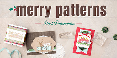Merry Patterns from Stampin' Up! UK - get yours here