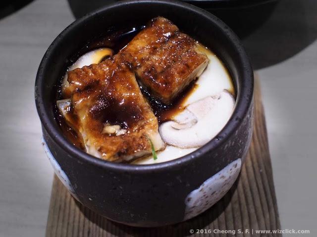 Unagi chawanmushi from Ichiban Boshi Japanese restaurant