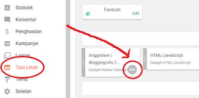 Cara Mengubah Text Judul Blog Di Header Dengan Logo