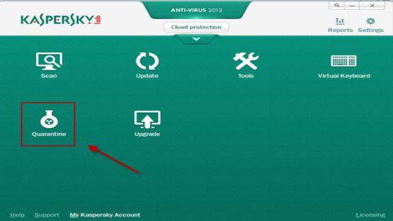 Kaspersky 2013 screenshot 2