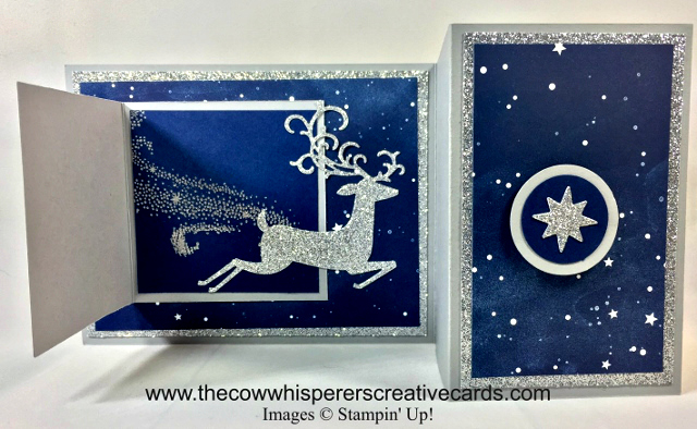 Card, Dashing Deer, Detailed Deer Thinlits Dies, Twinkle Twinkle Designer Series Paper