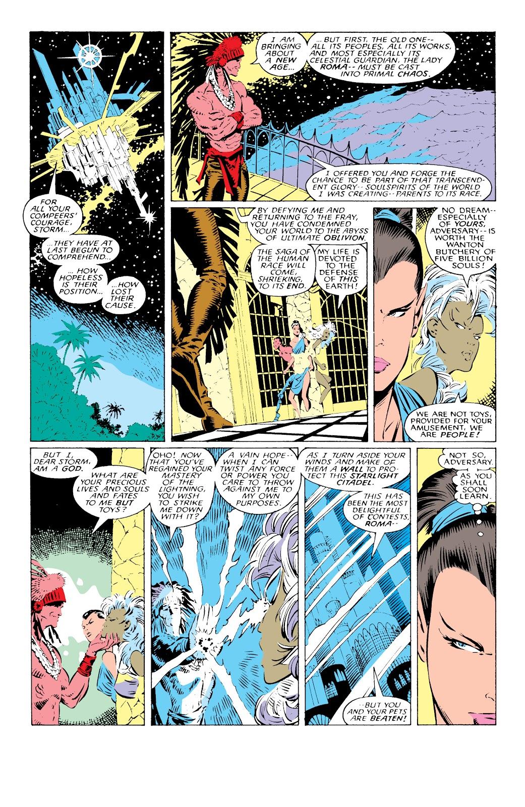 Read online X-Men Milestones: Fall of the Mutants comic -  Issue # TPB (Part 1) - 75