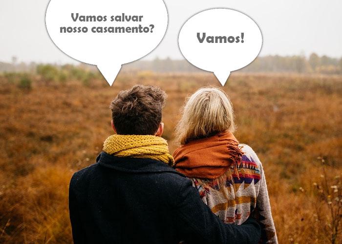 homem e mulher conversando sobre salvar seu casamento em crise - Como salvar meu casamento em crise