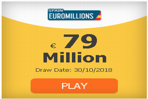 #EuroMillions 79 million and rain of millions: odds, clubs