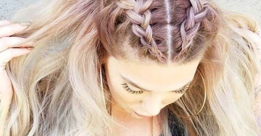 15 Amazing Braid Hairstyles for Party and Holidays