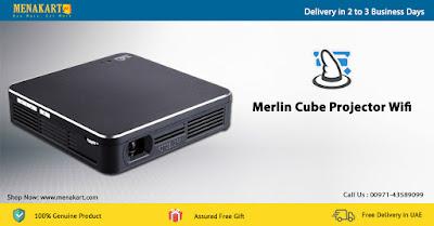 Merlin Cube Projector Wifi