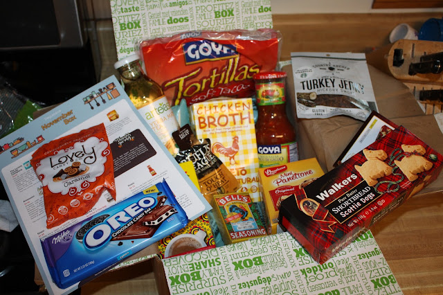 November 2017 Degustabox full of foodie goodies